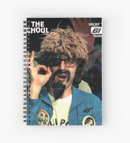 The Ghoul OK-2 t-shirt Spiral Notebook