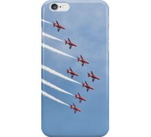 The Red Arrows, Eastbourne iPhone Case/Skin