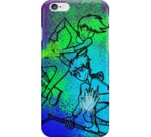 WHITE-HAIRED WONDERS (solid colour) iPhone Case/Skin