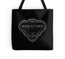 Luther - Badge - White Dirty Tote Bag