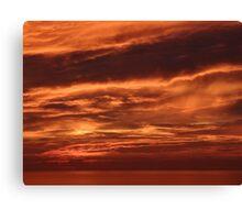 Symphony of colours instead of an eve of destruction - Sinfonía de colores en lugar de noche destructiva Canvas Print