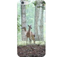Playing in the Woods iPhone Case/Skin