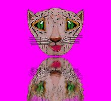 Cat reflected. by albutross