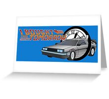 Back To The Future Day Greeting Card
