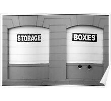Storage | Boxes Poster