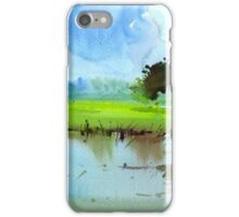 Sky N Farmland iPhone Case/Skin