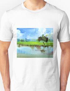 Sky N Farmland Unisex T-Shirt
