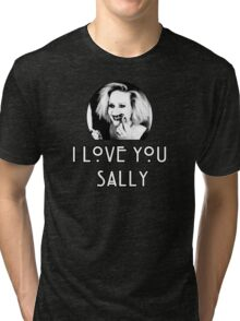 I love you, Sally Tri-blend T-Shirt