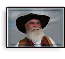 """ Wild Bill "" Canvas Print"