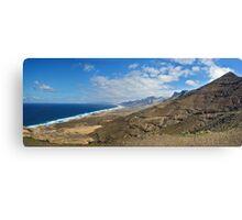 Fuertaventura Panorama Canvas Print
