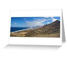 Fuertaventura Panorama Greeting Card