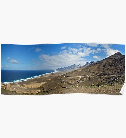 Fuertaventura Panorama Poster