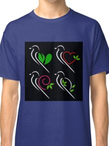Abstract birds Classic T-Shirt