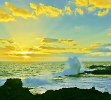 Waves of Morning Rays by David Alexander Elder