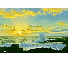 Waves of Morning Rays Photographic Print