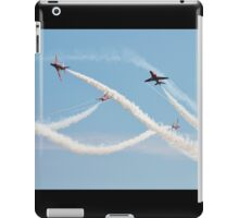 Red Arrows at Airbourne iPad Case/Skin