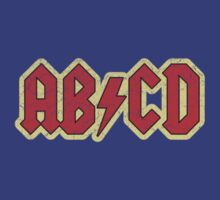 Vintage ABCD Rock & Roll by colorhouse
