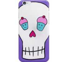Death by Cupcakes iPhone Case/Skin