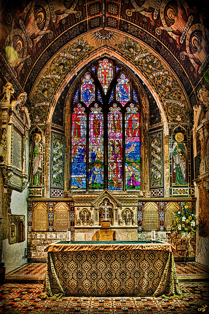 The Parish Church of St Peter-in-Thanet by Chris Lord
