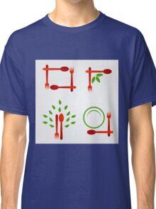 Organic cuisine artwork Classic T-Shirt