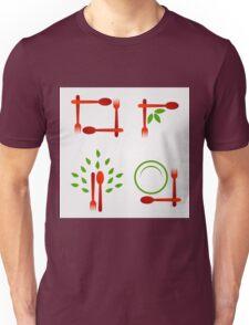 Organic cuisine artwork Unisex T-Shirt