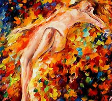 MISTY LOVE - LEONID AFREMOV by Leonid  Afremov