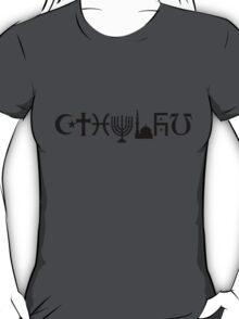 Cthulhu (black, sticker-friendly variant) T-Shirt