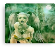 The Moonlight Huntress Canvas Print