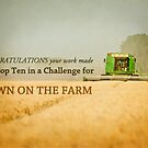 Down on the Farm- Top Ten Banner by vividpeach