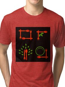 Vegan artwork Tri-blend T-Shirt