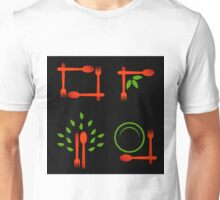 Vegan artwork Unisex T-Shirt