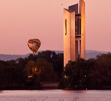 Canberra carillon - iPhone case by Odille Esmonde-Morgan