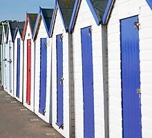 The Beach Huts by Kerry Dunstone