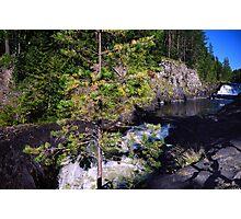 Kivach Waterfalls in Karelia, Russia Photographic Print