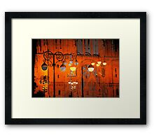 The Essence of Croatia - Zagreb Night Lights Framed Print