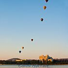 High Court & balloons - iPhone case by Odille Esmonde-Morgan