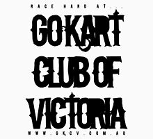 "Go Kart Club of Victoria ""race hard"" Unisex T-Shirt"