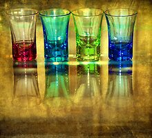 Four Vodka Glasses by Svetlana Sewell