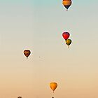 Five balloons  - iPhone case  by Odille Esmonde-Morgan