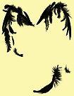 Broken Wings Castiel by Tracey Gurney