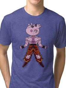 Daddy Pig (For Eoin) Tri-blend T-Shirt