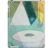 Small Blue Composition iPad Case/Skin