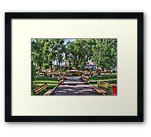Lakeside Framed Print