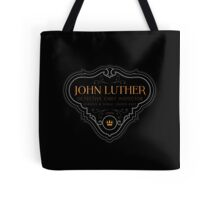 Luther - Badge - Colored Clean Tote Bag