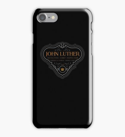 Luther - Badge - Colored Clean iPhone Case/Skin