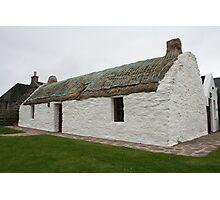 Shetland cottage Photographic Print