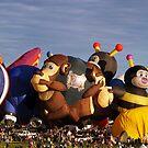 2011 Albuquerque Balloon Fiesta ( Smart Monkey ) by Paul Albert