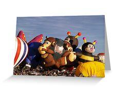 2011 Albuquerque Balloon Fiesta ( Smart Monkey ) Greeting Card