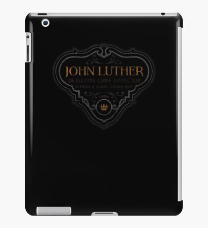 Luther - Badge - Colored Dirty iPad Case/Skin