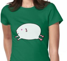 Smooth Leaping Guinea-pig ... Albino Womens Fitted T-Shirt